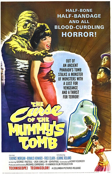 The Curse Of King Tuts Tomb Torrent: The Curse Of The Mummy's Tomb - 1964 - Movie Poster