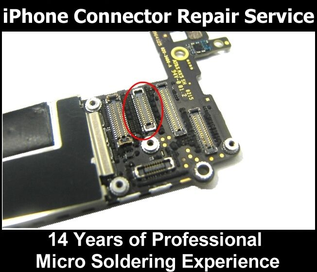 iphone 6 connector iphone 6 amp 6 plus lcd display screen fpc connector repair 11312