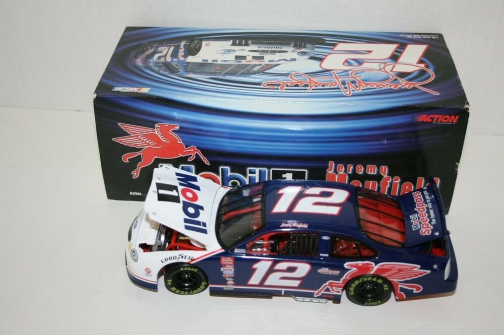 1999 jeremy mayfield 12 mobil 1 24 action diecast ebay. Black Bedroom Furniture Sets. Home Design Ideas