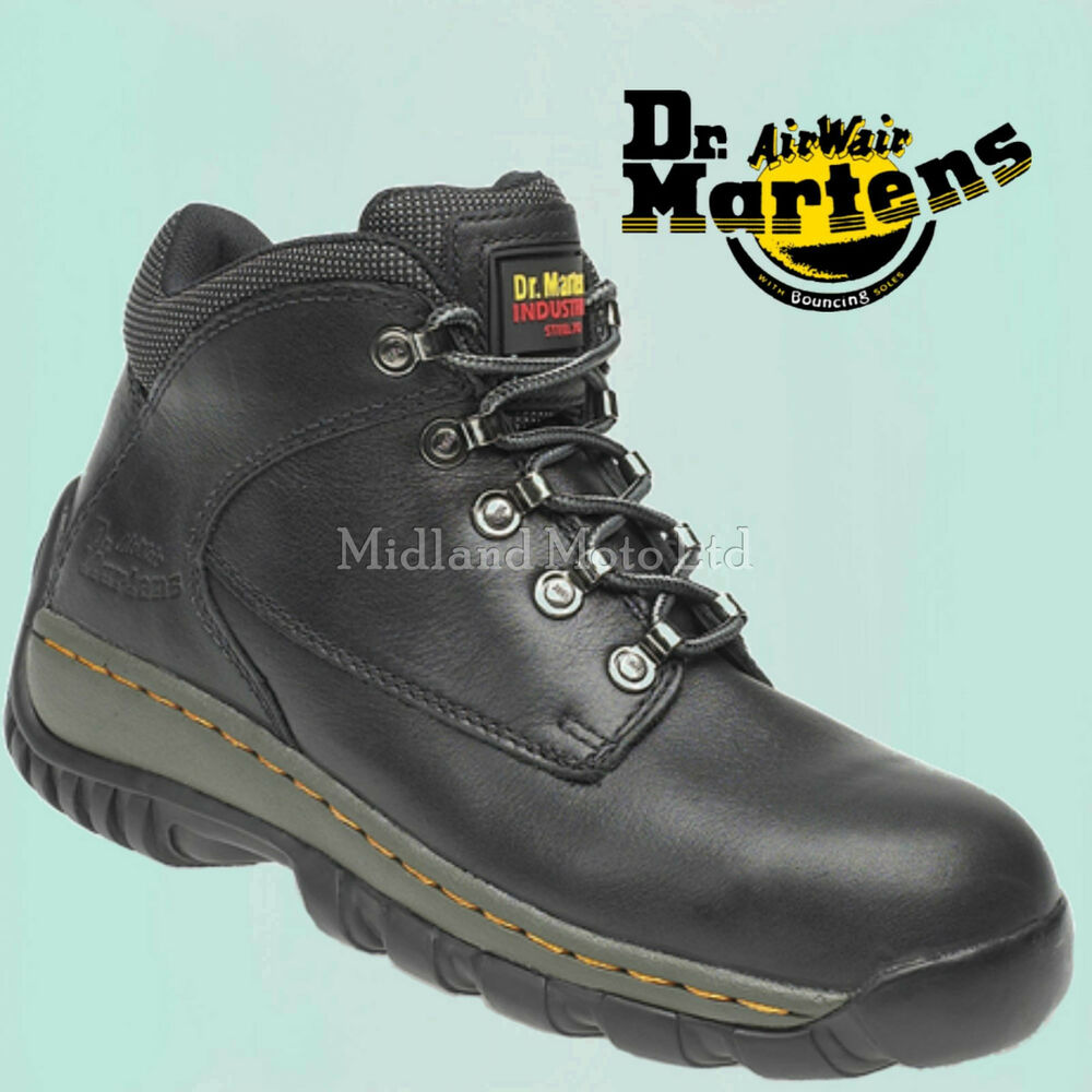 dr martens steel toe cap safety boots doc martins new in