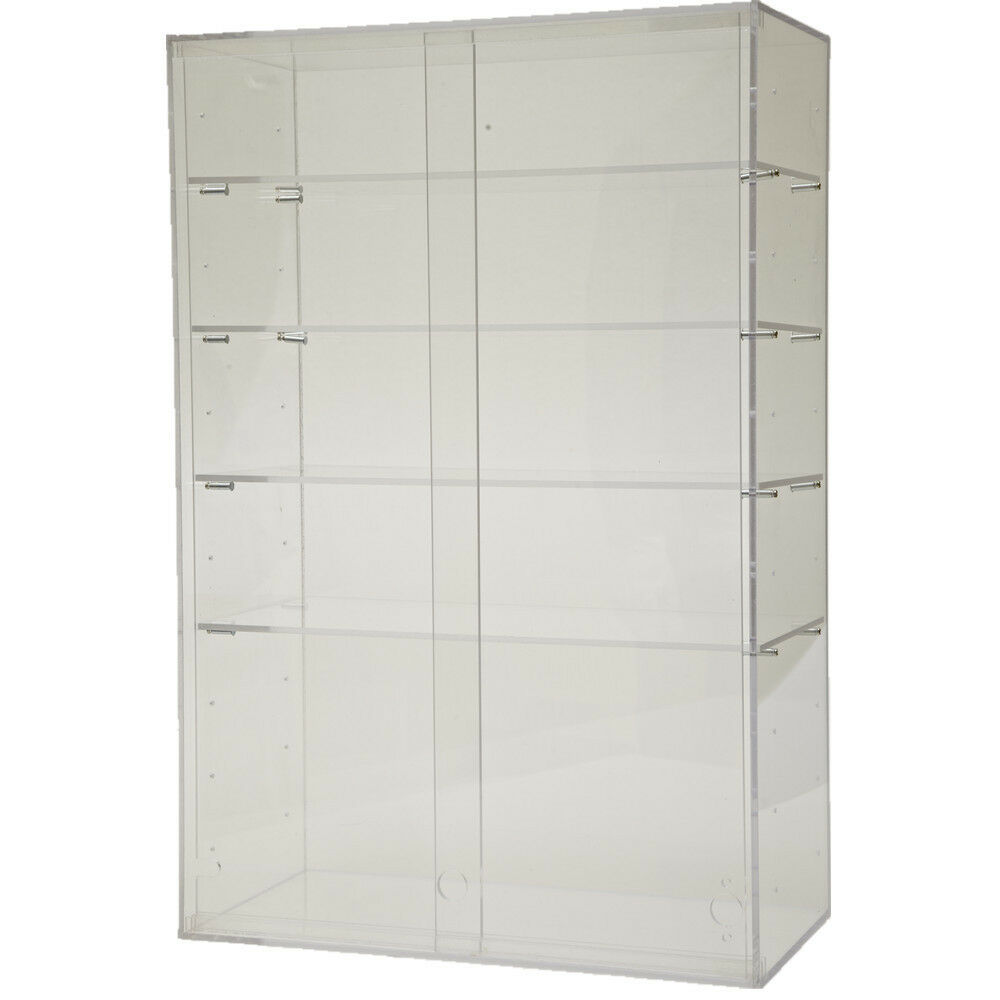 Acrylic Cabinet Large Clear Display Box Show Case Stand