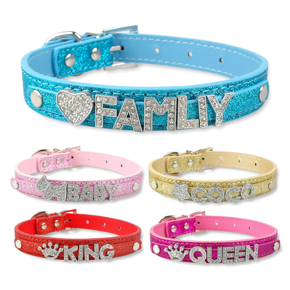 Bling Dog Collars With Name