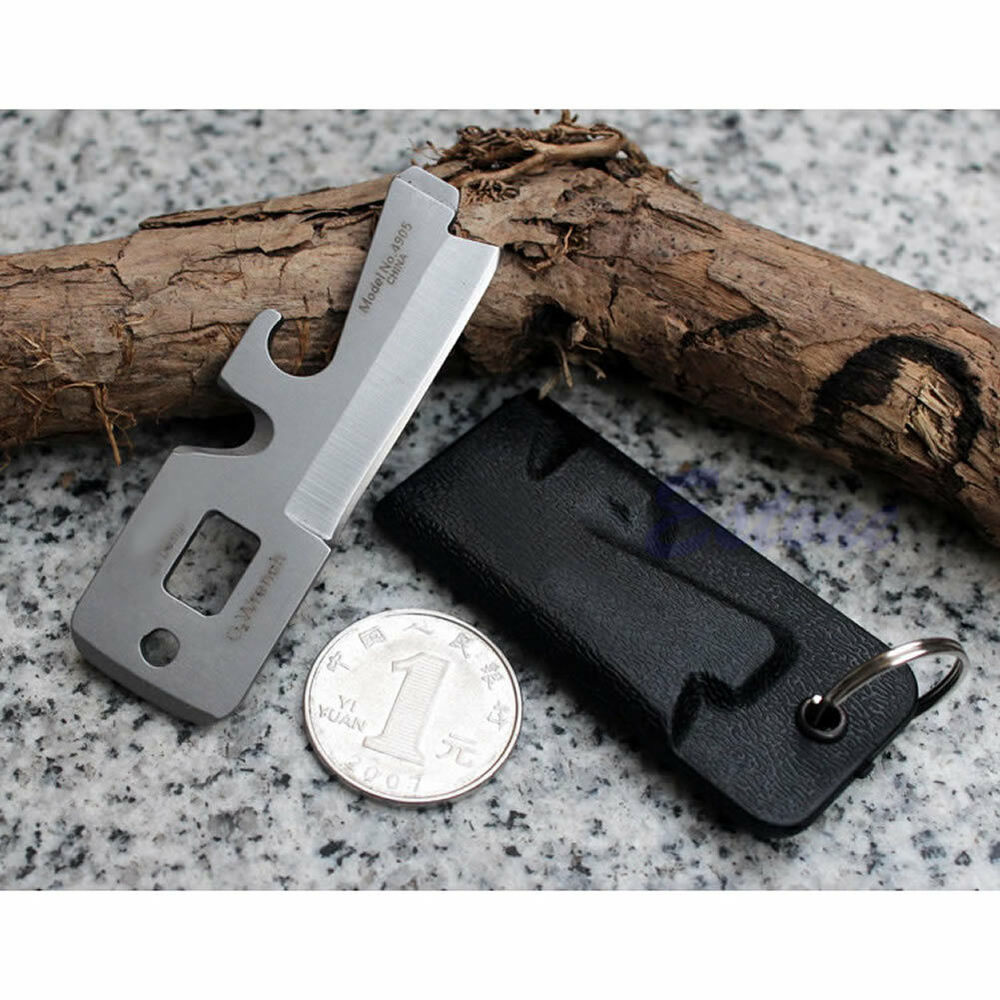5in1 stainless multi tool edc pocket survival bottle opener screwdriver keychain ebay. Black Bedroom Furniture Sets. Home Design Ideas