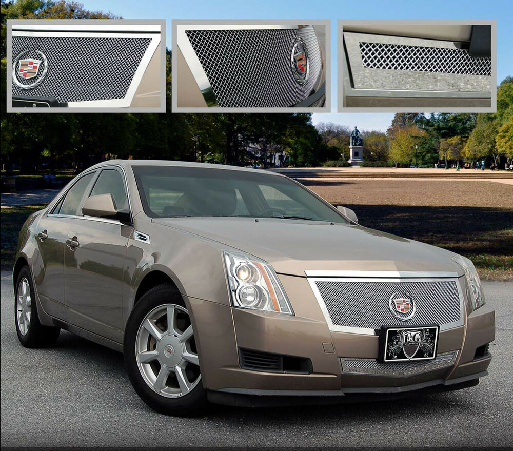 Cts Sedan Cadillac: 2012 2013 CADILLAC CADY CTS 2PC FINE MESH GRILLE GRILL E&G