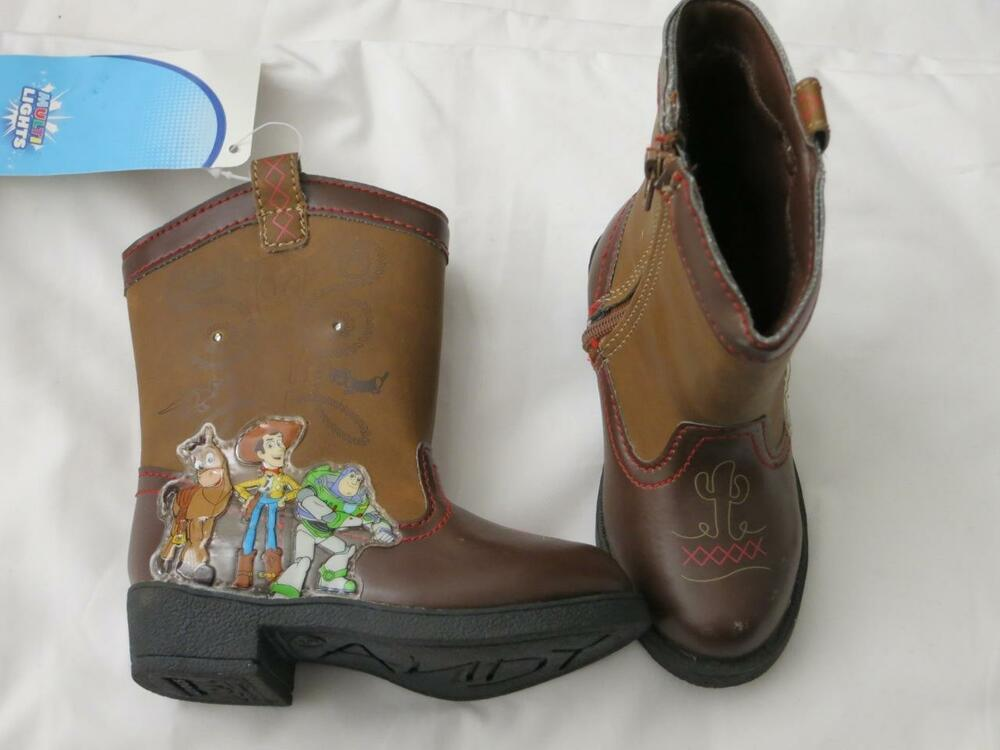 Toy Story Boots For Boys : Disney boys toy story cowboy boots woody buzz rodeo light