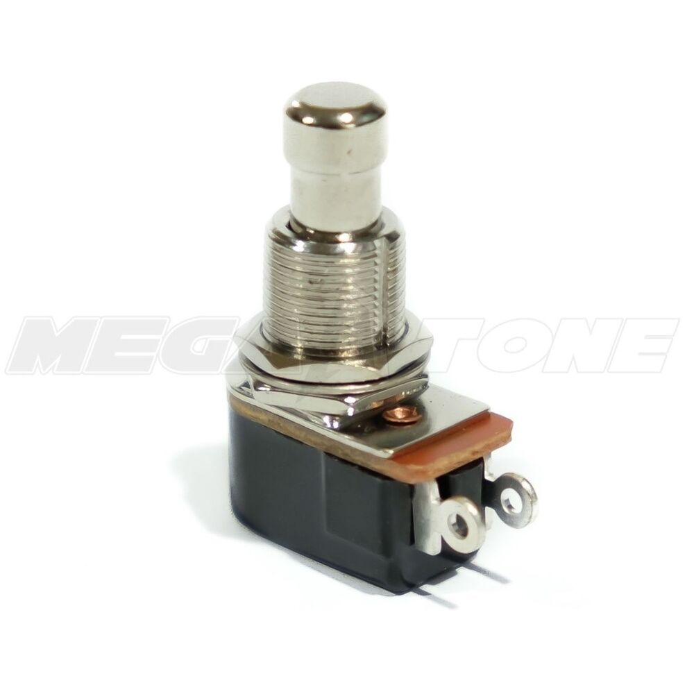 spst footswitch wiring new spst momentary soft touch push button pedal footswitch ...