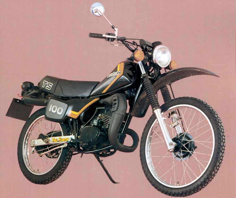 suzuki ts100 erz    ts125 erz replica full floater tacho
