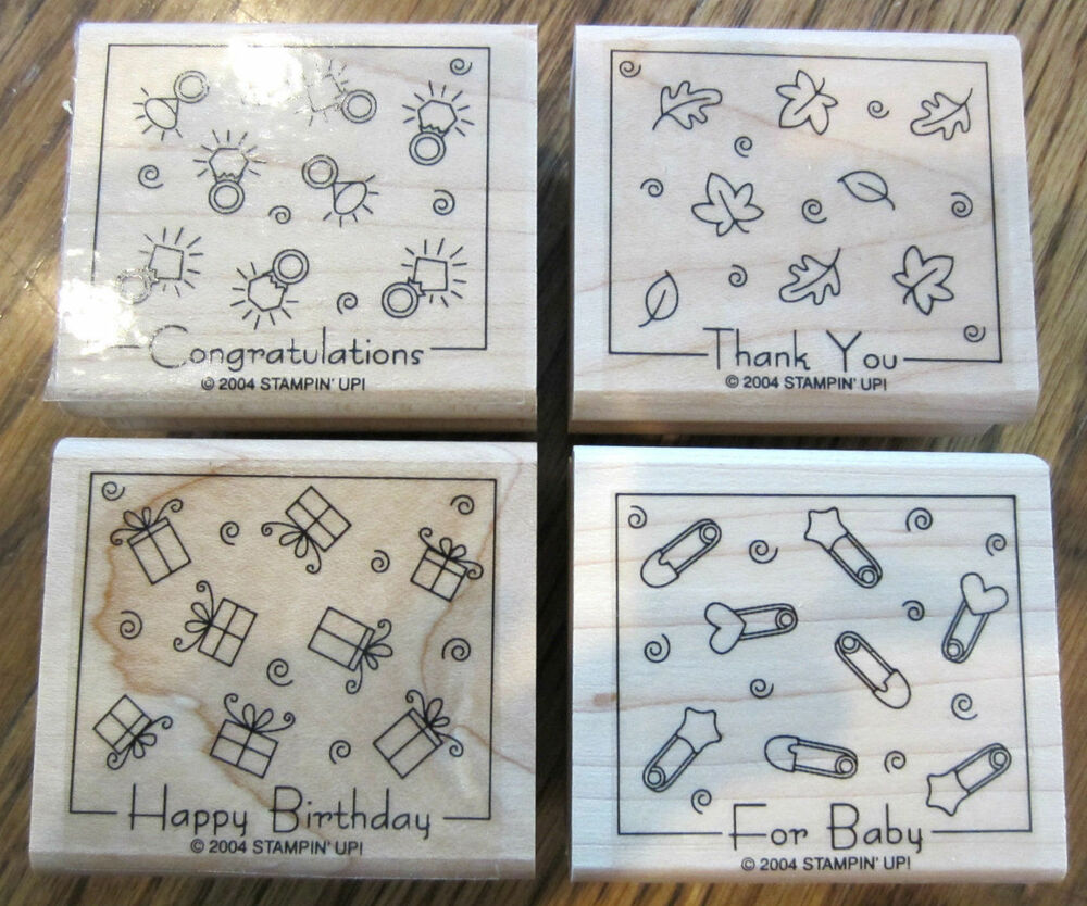 Stampin up scrapbooking rubber stamps craft stampin up for Custom craft rubber stamps