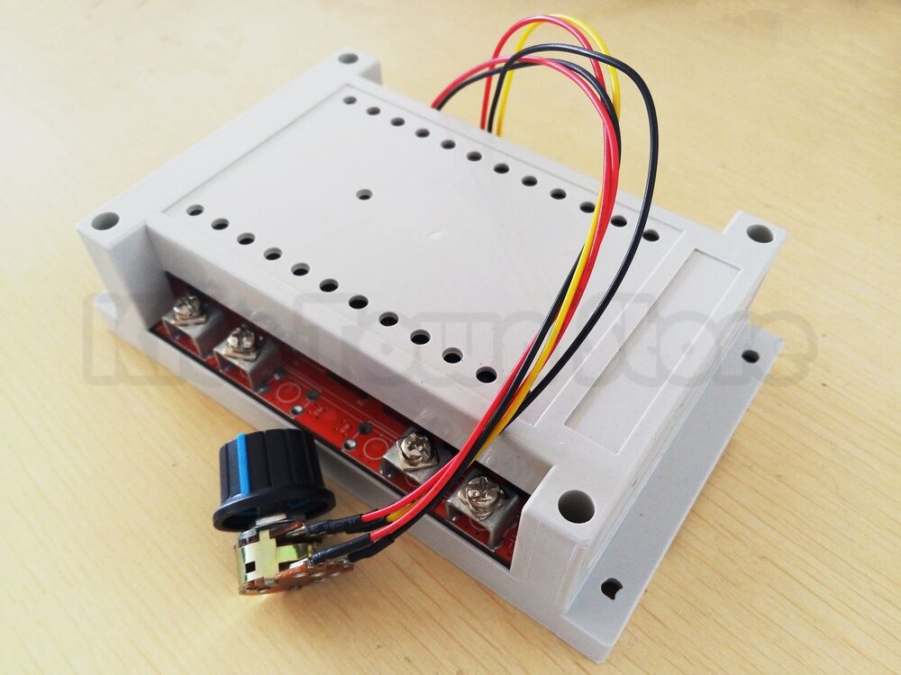 New 10 50v 60a 3000w dc motor speed control pwm hho rc for Motor with speed control