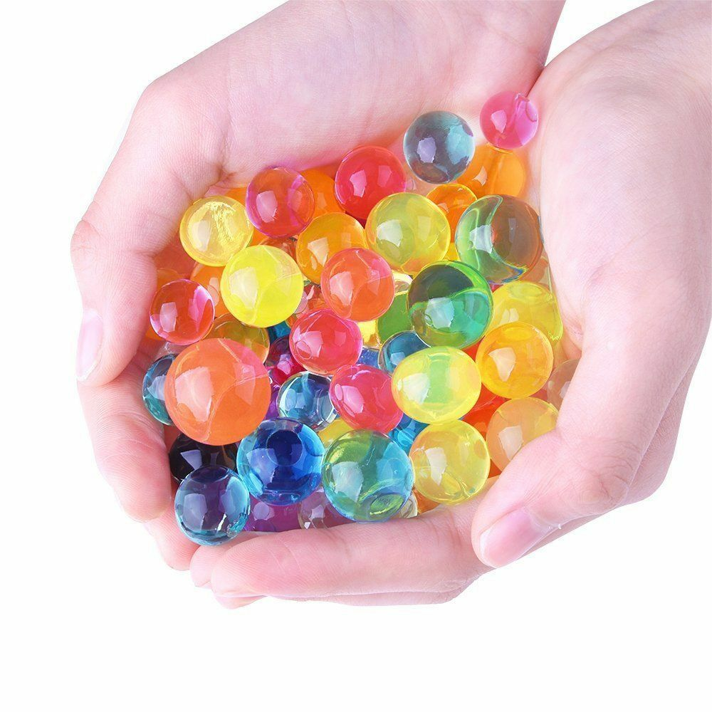 Deco water pearl ball bead jelly gel party event wedding for Decoration fenetre gel