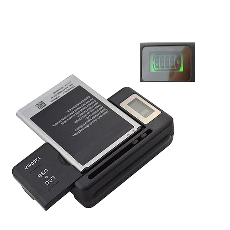 lcd screen usb ac phone battery wall charger for samsung galaxy s4 note 2 3 4 ebay. Black Bedroom Furniture Sets. Home Design Ideas