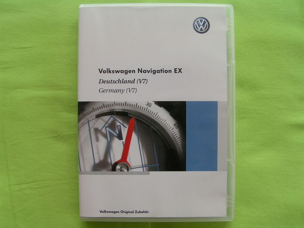 cd navigation software ex deutschland europa 2009 v7 vw rns 300 seat skoda top ebay. Black Bedroom Furniture Sets. Home Design Ideas
