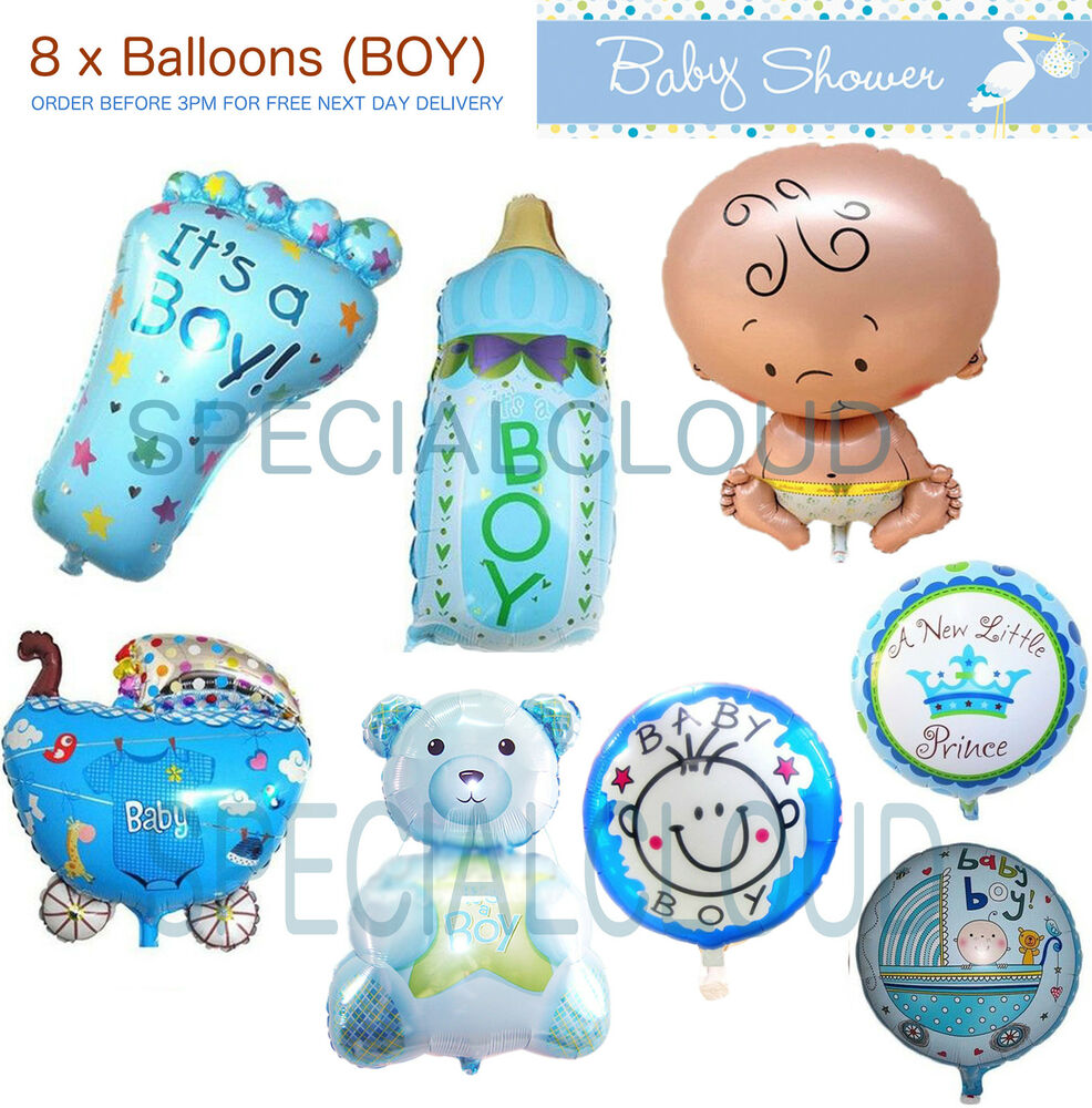 Helium Balloons Baby Shower: LARGE BABY FOIL HELIUM BALLOON BABY SHOWER CHRISTENING