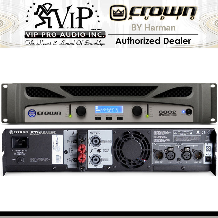Channel 4500 Watts Professional Power Amplifier Amp Stereo Gtd Audio
