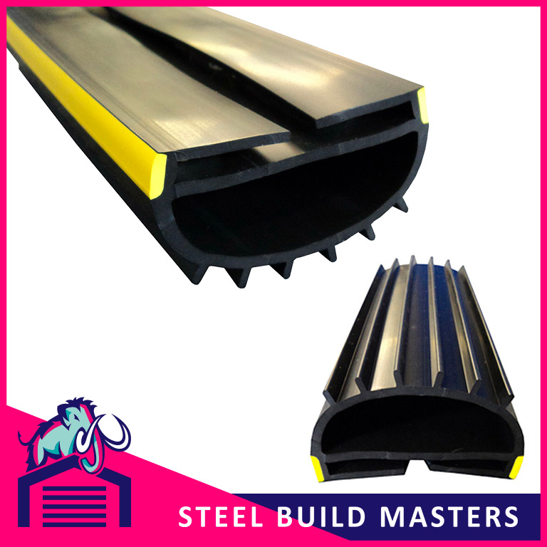 Roller Shutter Door Rubber Seal Slides On To Bottom Rail
