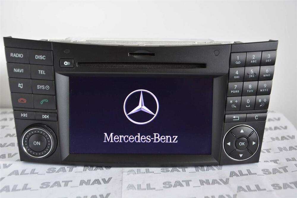 mercedes comand aps ntg2 5 w219 w211 cls e cd sat nav. Black Bedroom Furniture Sets. Home Design Ideas