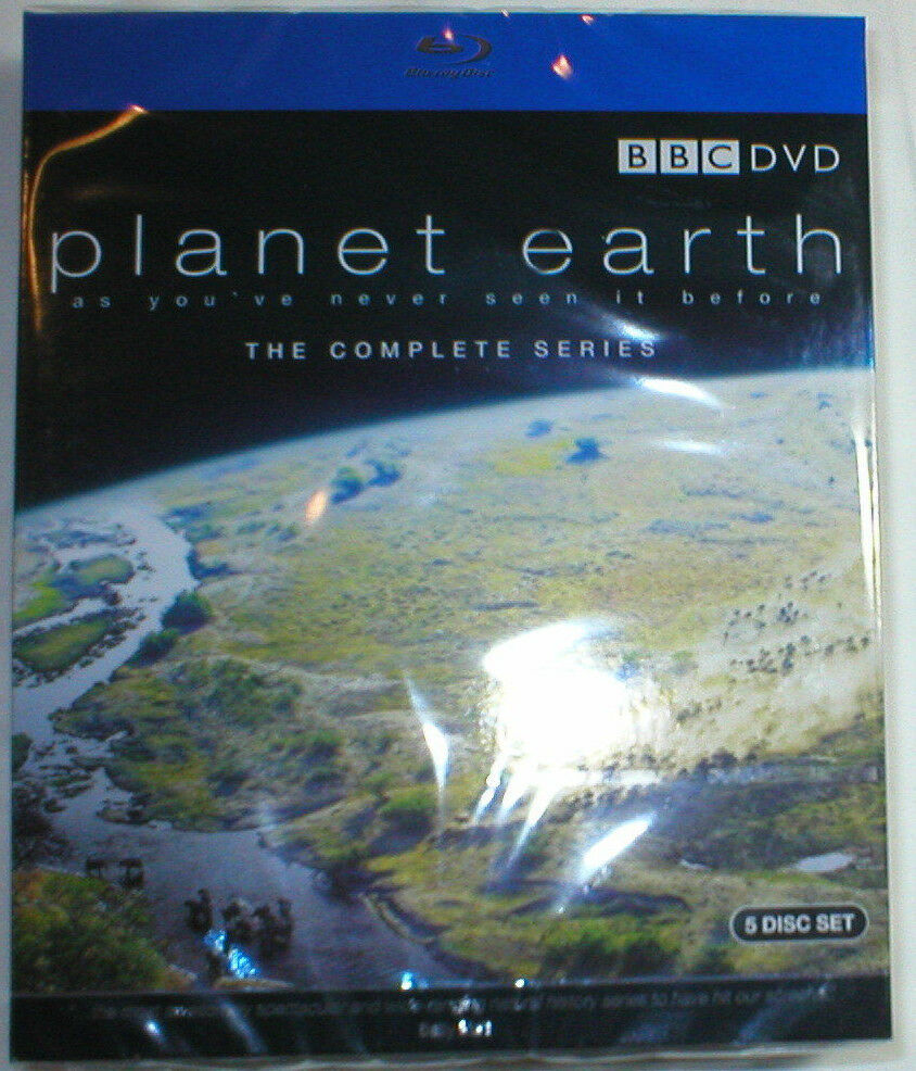 PLANET EARTH THE COMPLETE SERIES Brand New 5-Disc Blu-Ray ...