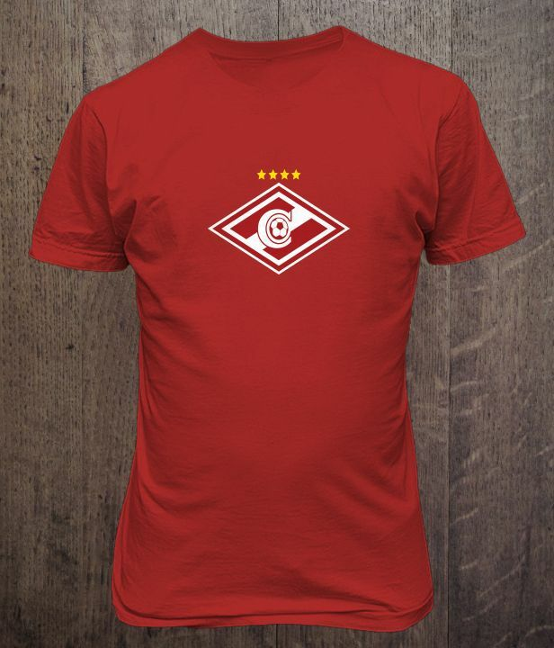 FC Spartak Moscow Russia Soccer Football T Shirt