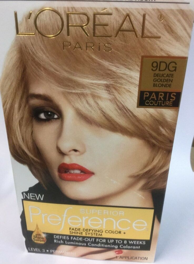 L Oreal Superior Preference Paris Couture Hair Color