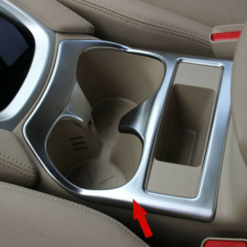 Matte Center Console Cup Holder Cover Trim For Nissan X
