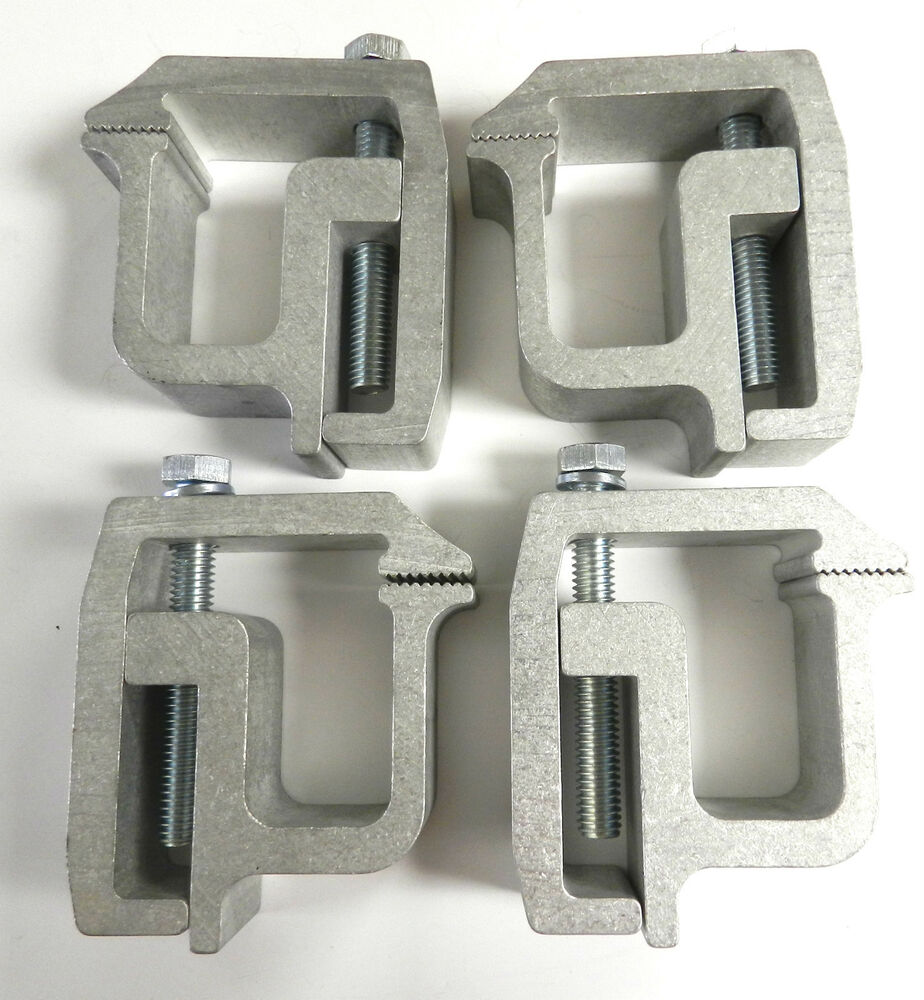 4 Tite Lok Truck Cap Topper Camper Shell Mounting Clamps