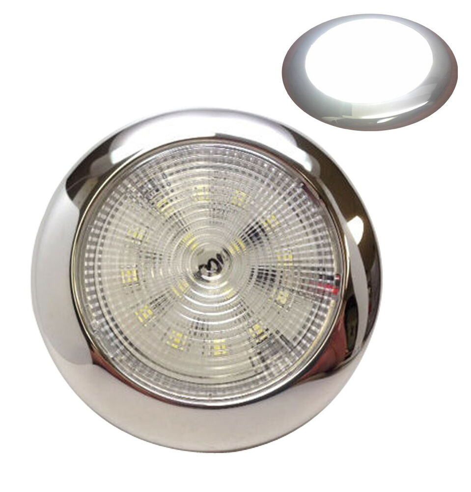 MARINE BOAT RV TRAILER LED BRIGHT DAYLIGHT SLIM CEILING