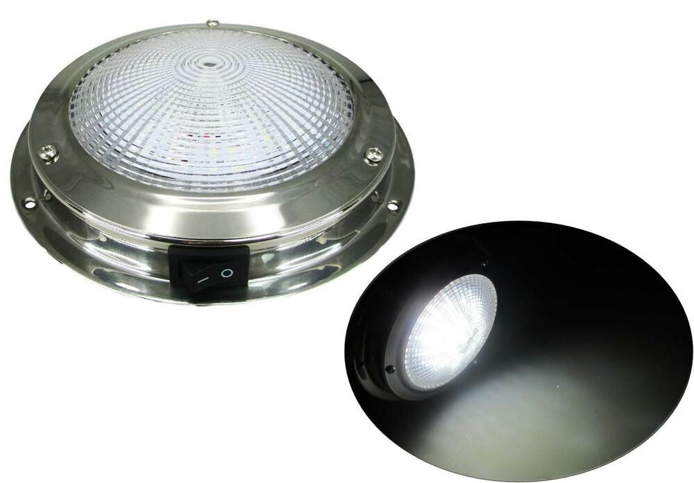 "MARINE BOAT TRAILER CAR RV 4""LENS LED CEILING/CABIN/DOME"