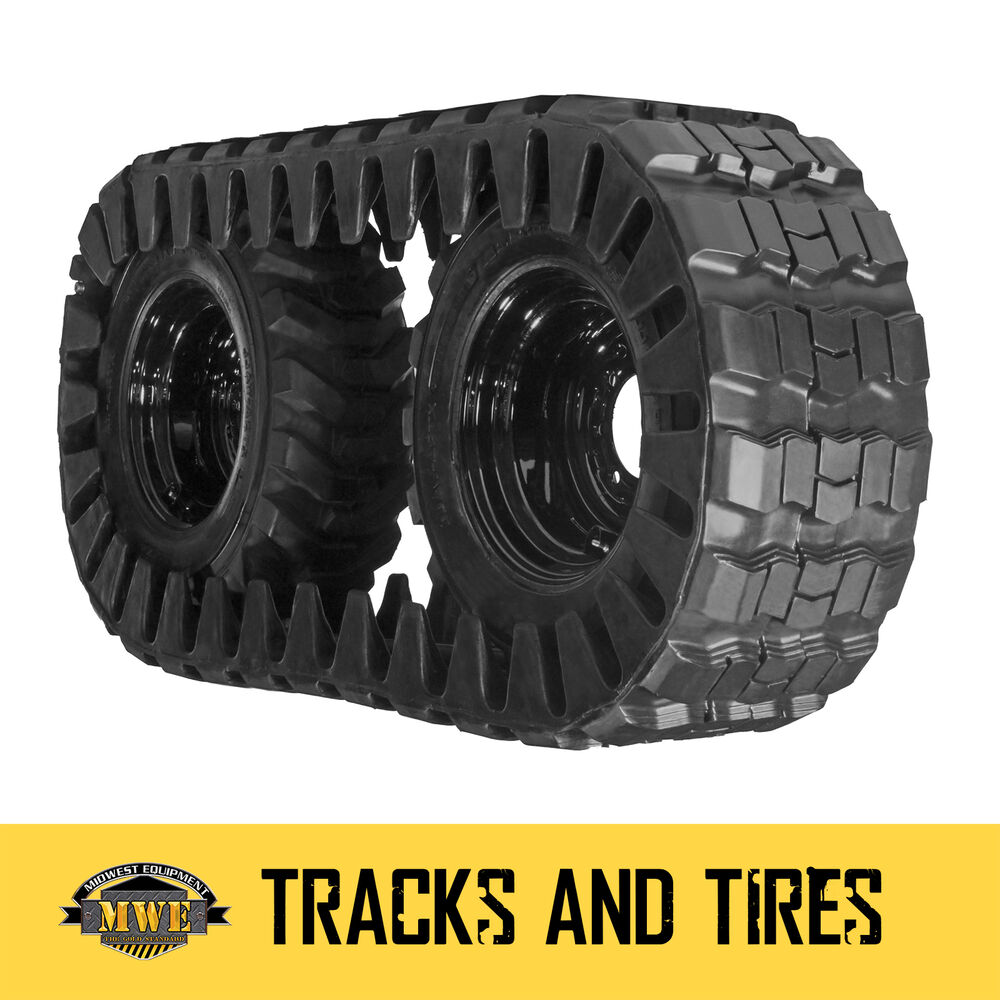 12x16 5 12 16 5 Skid Steer Loader Rubber Over The Tire