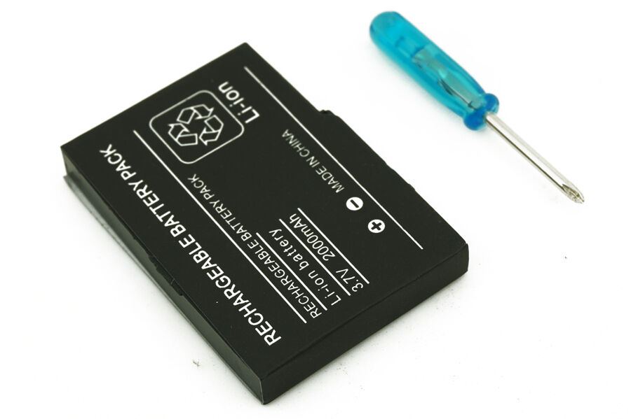new replacement battery 2000mah nintendo ds lite ndsl screwdriver ebay. Black Bedroom Furniture Sets. Home Design Ideas