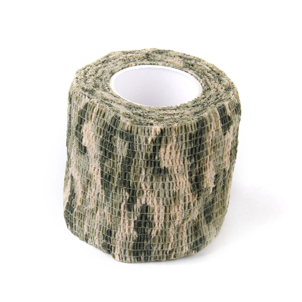 camouflage camo wrap tape gun barrel scope rifle cloth stealth hunting concealment woven non christmas