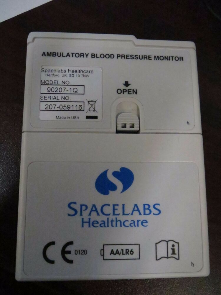 spacelabs ambulatory blood pressure monitor manual