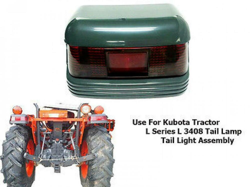 Tractor Rear Lights : Use for kubota tractor l tail