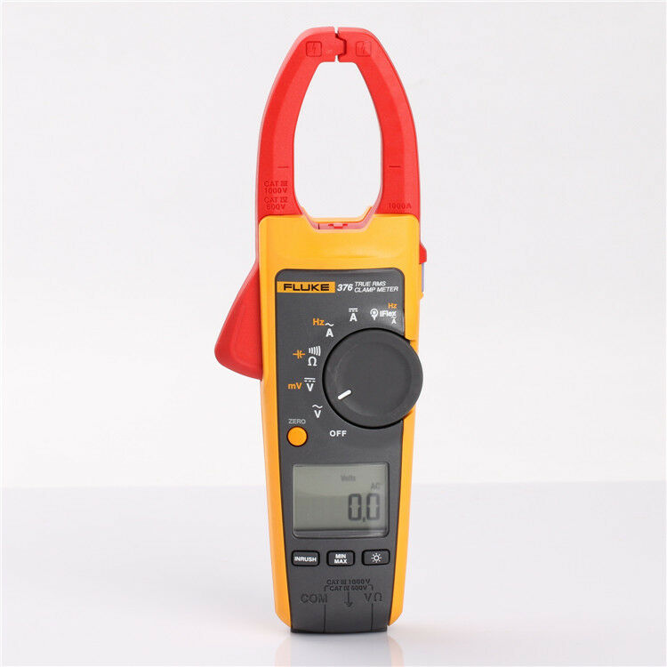 Ac Dc Clamp Meter : New fluke true rms ac dc clamp meter a v with