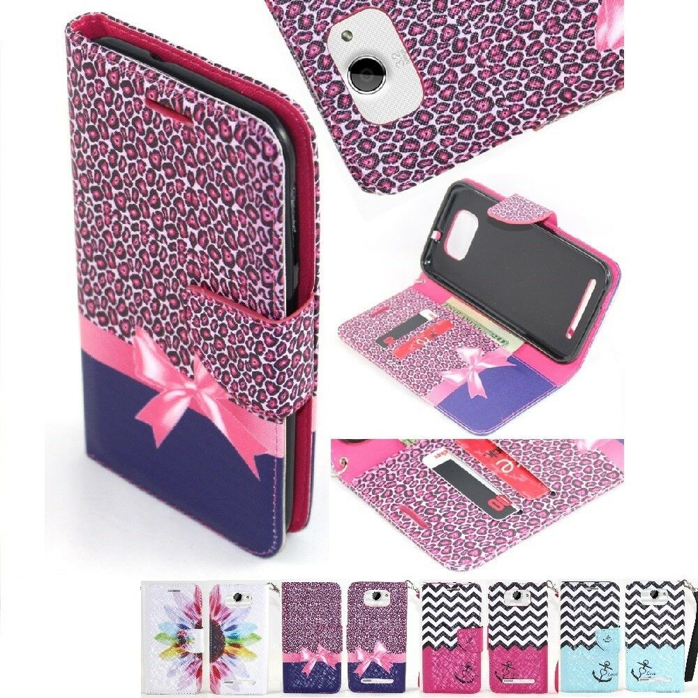 For BLU Studio 5.5 Cell Phone Case Hybrid PU Leather Wallet Pouch Flip ...