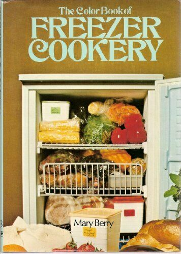 Colour Book of Freezer Cookery by Berry, Mary Paperback Book The Cheap Fast Free