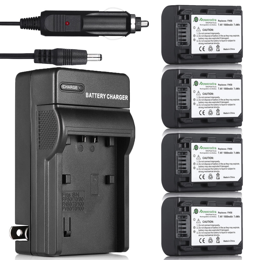 Np Fh50 Battery Charger For Sony Np Fh40 Np Fp50 Dsc Hx1