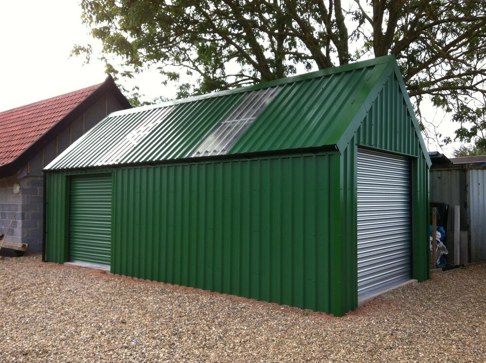 Temporary Construction Garage : Garage workshop building steel build masters degree