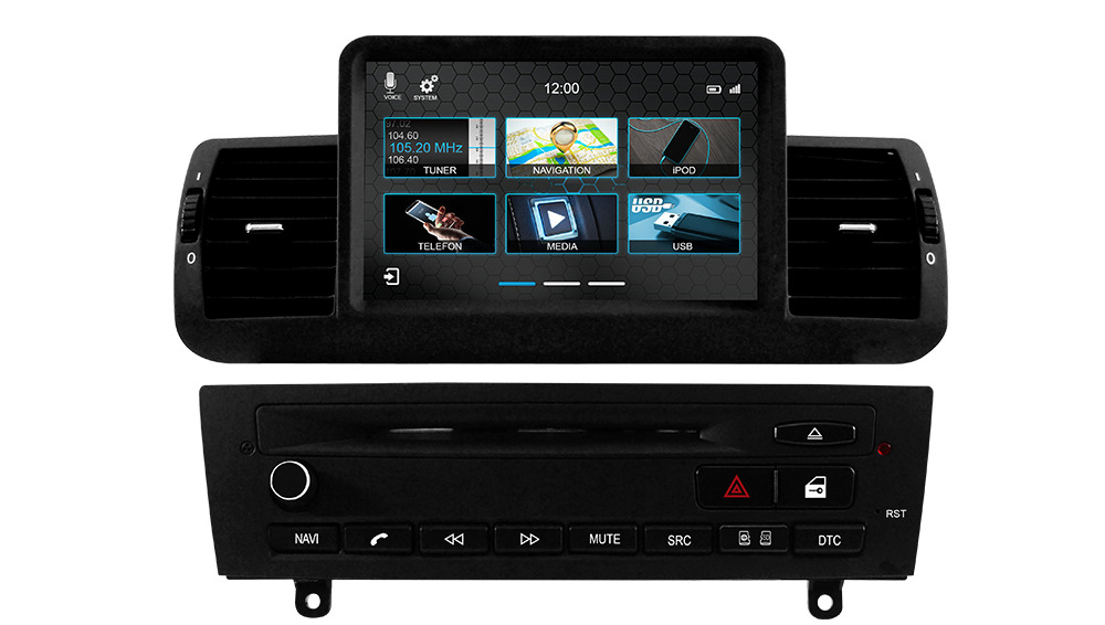 dynavin dvn e87 autoradio navigation bluetooth n6 plattform bmw 1er e81 e82 e87 ebay. Black Bedroom Furniture Sets. Home Design Ideas