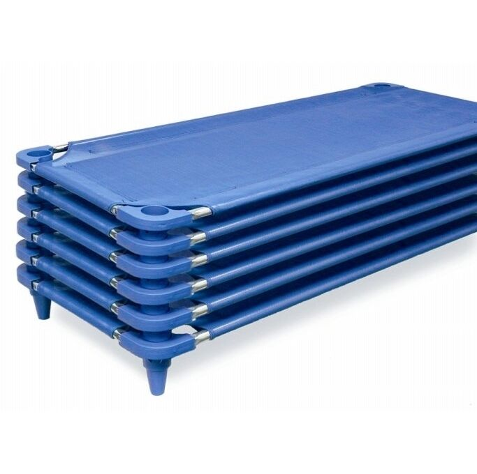 24 New Daycare Economy Childcare Nap Cots Stacking Cots