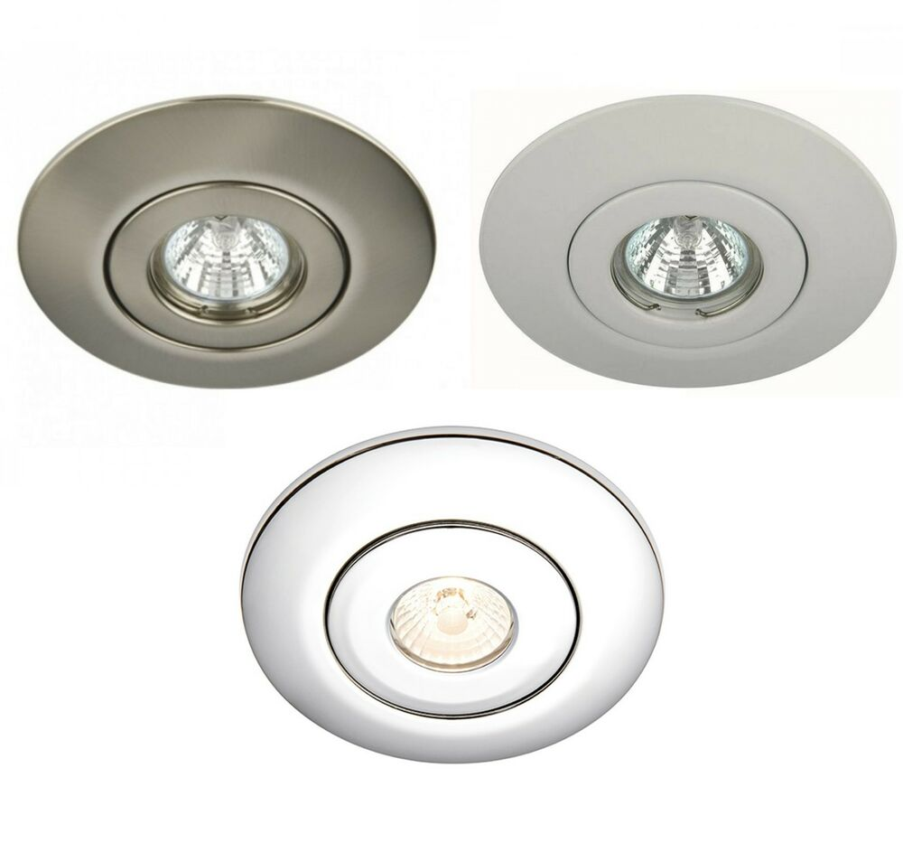 led gu10 mains hole converter kit recessed ceiling downlight large r50 r63 r80 ebay. Black Bedroom Furniture Sets. Home Design Ideas