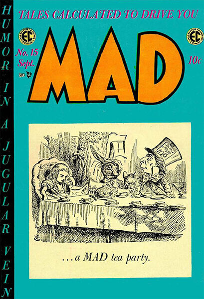 mad magazine issue 15 cover poster ebay