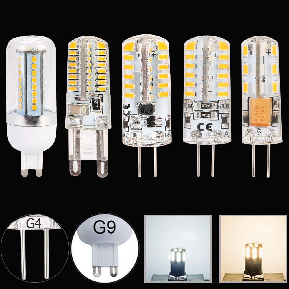 g4 g9 1 5w 4 5w 24 64 led 3014 smd capsule replace halogen. Black Bedroom Furniture Sets. Home Design Ideas