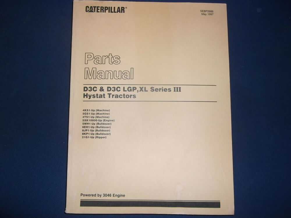Caterpillar D3c Manual