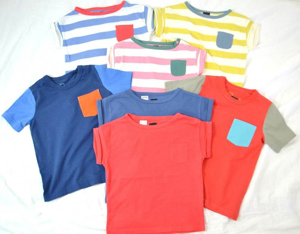 Mini boden cotton t shirts plain and striped age 2 10 for Mini boden england