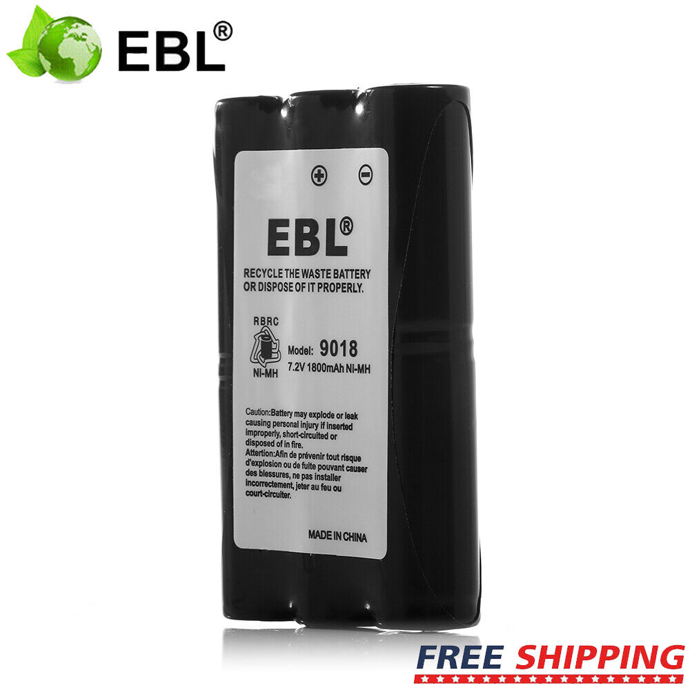 EBL 4 Pack 1.2V 2800mAh AA NiMH Rechargeable Battery ...