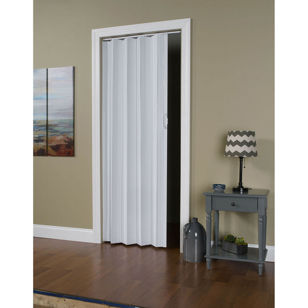 Via white 24 36 x 80 folding door ebay for Folding doors