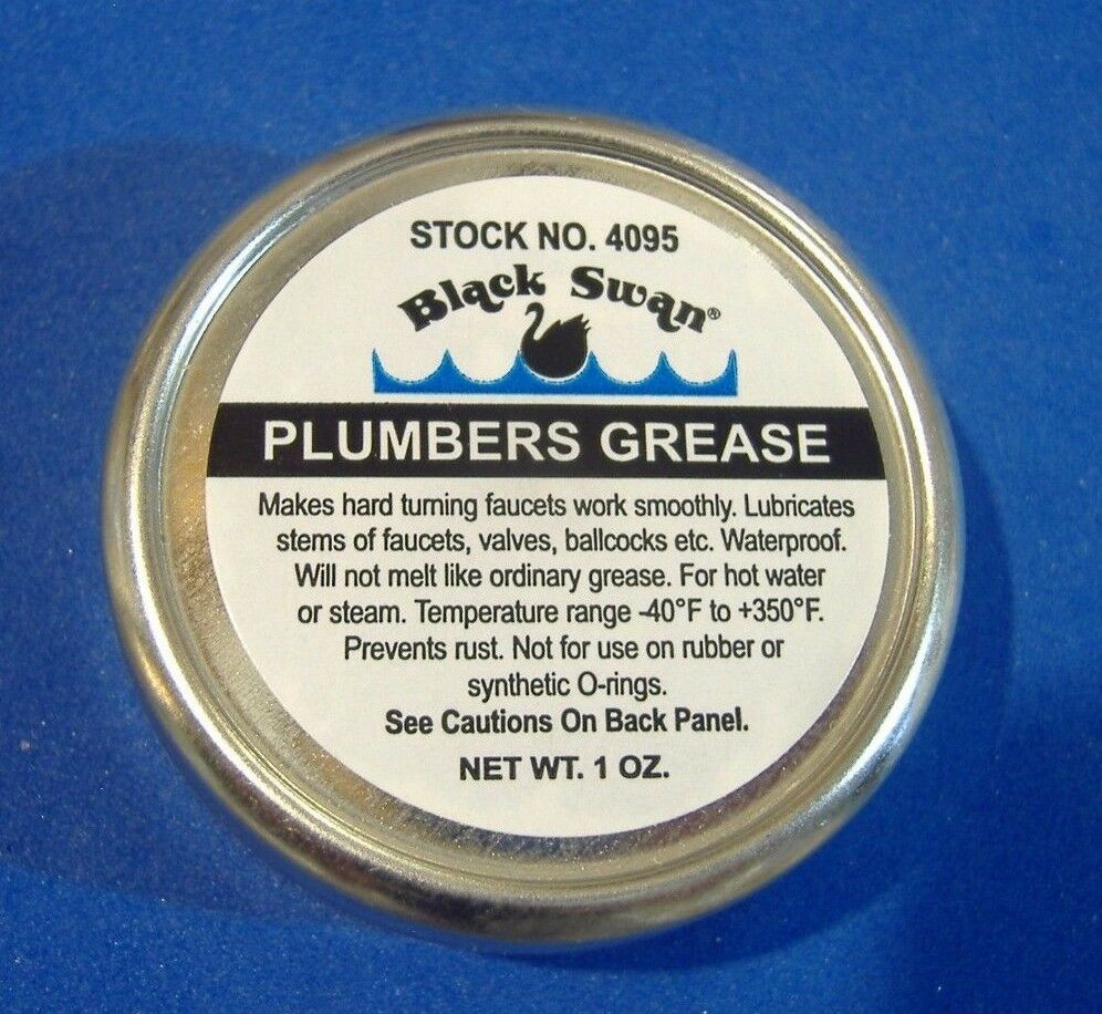 HEAT PROOF GREASE FAUCET STEM AND VALVE PLUMBERS O\'RING GREASE ...