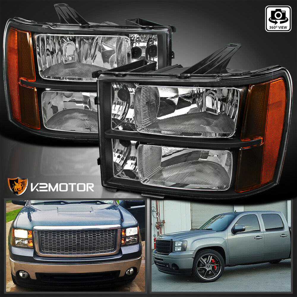 2014 gmc sierra headlights autos post. Black Bedroom Furniture Sets. Home Design Ideas