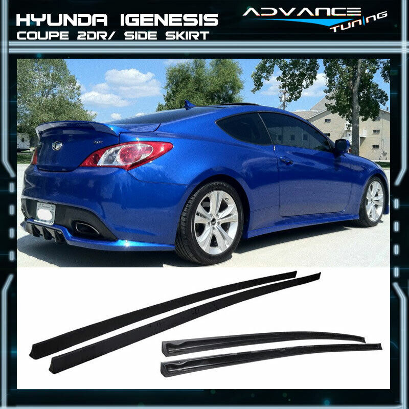 Hyundai Genesis Two Door: Fit For 10-12 Hyundai Genesis Coupe 2Dr Side Skirt