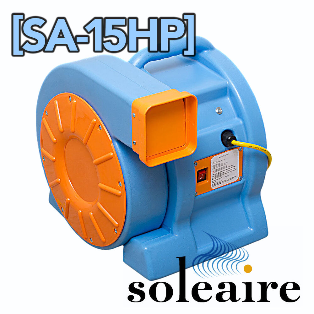 Soleaire® 1.5HP Inflatable Bounce House Air Blower Water ...